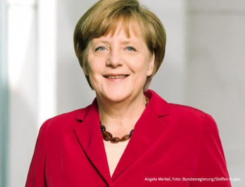 Woidke gratuliert Bundeskanzlerin Merkel zum 65.