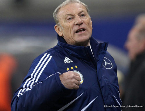 Woidke gratuliert Trainerlegende Eduard Geyer zum 75.