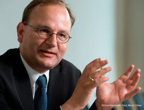 Ottmar Edenhofer erhält Deutschen Umweltpreis