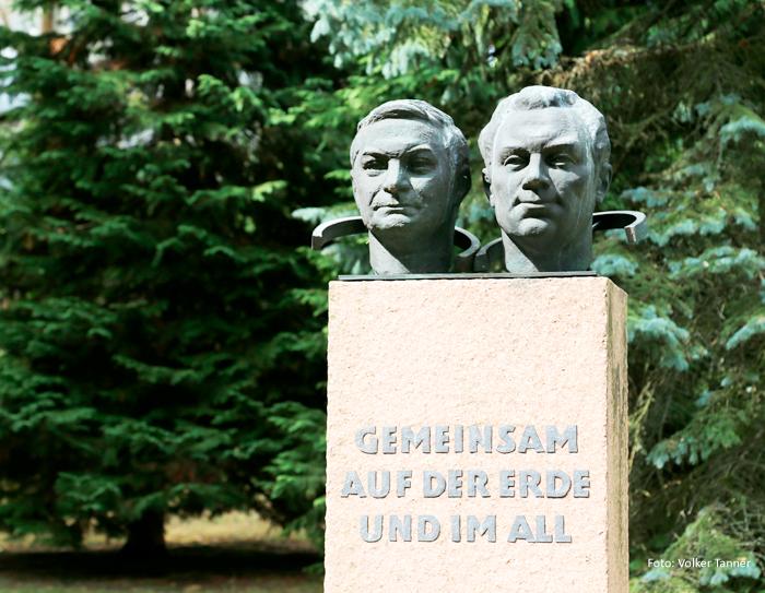 Raumflugdenkmal in Potsdam. Foto: Volker Tanner