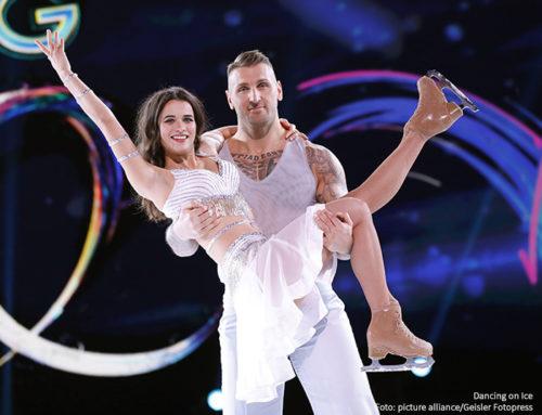Kati Witt und Kevin Kuske bei Dancing on Ice