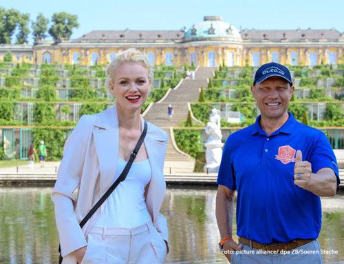 Franziska Knuppe und Axel Schulz sind Brandenburgs Einheitsbotschafter zum Tag der Deutschen Einheit