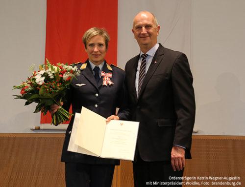 Landesverdienstorden für Katrin Wagner-Augustin