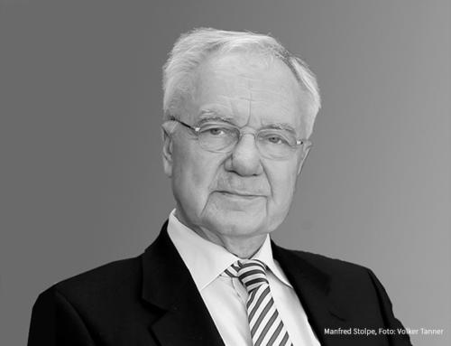 Brandenburg trauert um Manfred Stolpe