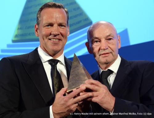 Woidke gratuliert  Manfred Wolke zum 75. Geburtstag