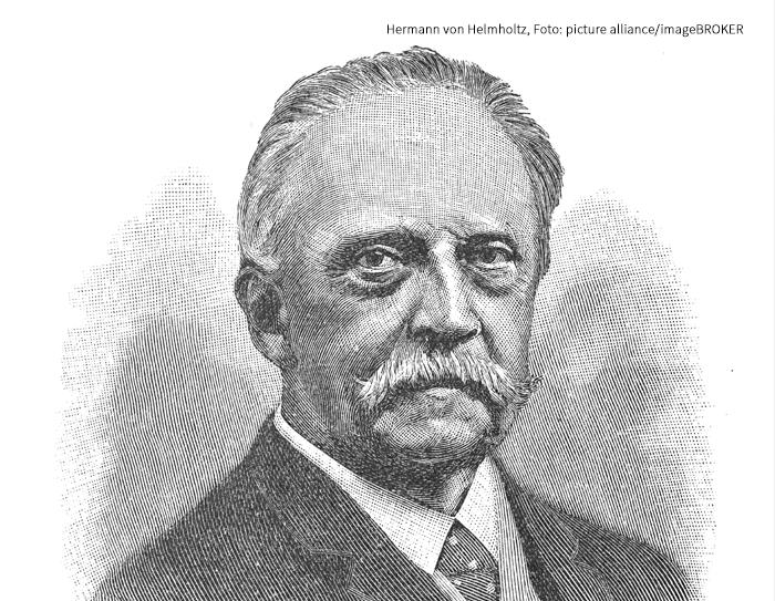 Hermann von Helmholtz, Foto: picture alliance/imageBROKER