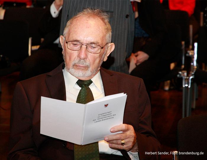 Herbert Sander, Foto: brandenburg.de